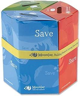 Moonjar Standard 3-Part Moneybox Bank