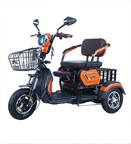 Seniorenmobil ElektromobilElektrisches dreirädriges Fahrrad Mini-Reise-Elektroroller Freizeit Shuttle für Erwachsene Kinderheim 20 Lithiumbatterie, 60V800W Motorladegewicht 100 (kg)