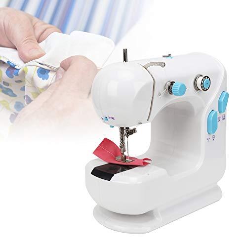 Máquina de coser de herramienta de bordado multifuncional doble con adopción práctica, para escritorio doméstico con equipo de rebobinado para facilitar(#1)