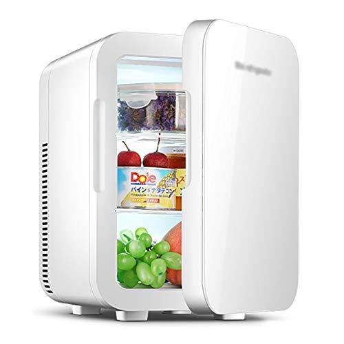 Mini refrigerador y Calentador de Nevera de 20 litros - Plateado | Enfriador termoeléctrico de Alimentos y Bebidas Ideal para oficinas [Clase energética A ++]