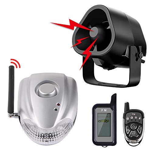 Autopmall Car Alarm Protection System Auto Security 2 Way Remote System Wireless Alarm Shock Alarm No Installation
