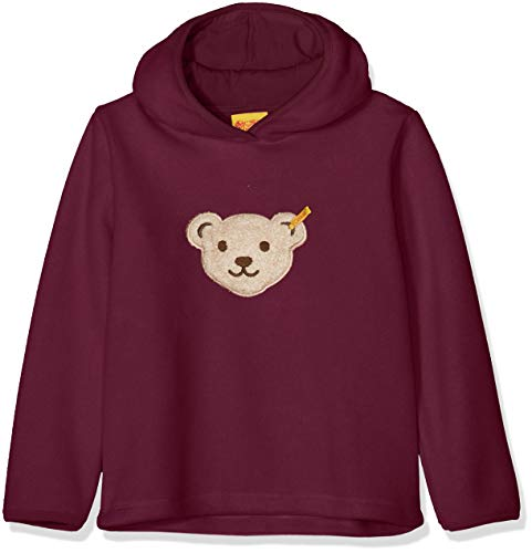 Steiff Steiff Mädchen 1/1 Arm Fleece Sweatshirt, Violett (Pickled Beet|Purple 7044), 98