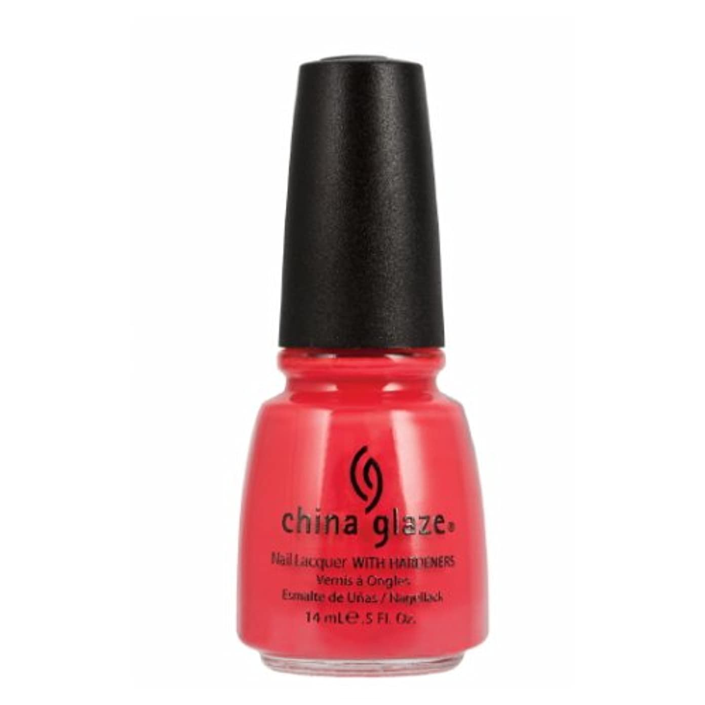 南極タイヤクレーン(3 Pack) CHINA GLAZE Nail Lacquer with Nail Hardner 2 - High Hopes (並行輸入品)