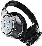 XUERUIGANG Auriculares inalámbricos de cancelación de Ruido en la Oreja - Bluetooth 4.2, Auriculares de Sonido estéreo con táctiles de proteínas cómodas, con micrófono para avión/Viaje/Trabajo/h