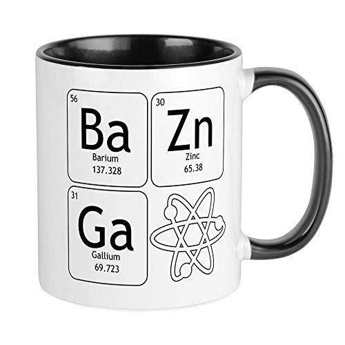 NA Bazinga Atom TBBT Tassen Einzigartige Kaffeetasse, Kaffeetasse