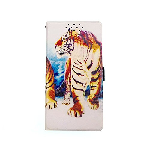 Archos 50 Saphir Hülle, Flip Phone Wallet mit Kartenschlitzen Standfunktion Magnetisch Off Phone Hülle DBH