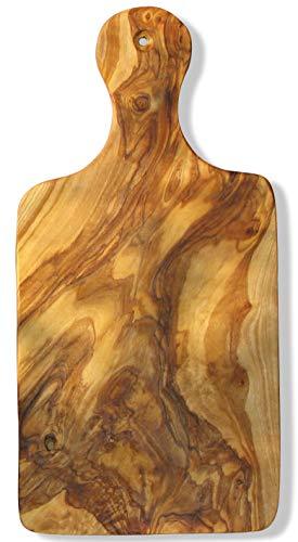 Figura Santa Tabla de Cortar de Madera de Olivo