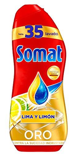 Somat Oro Gel Lavavajillas Limón - 35 Lavados (630 ml)