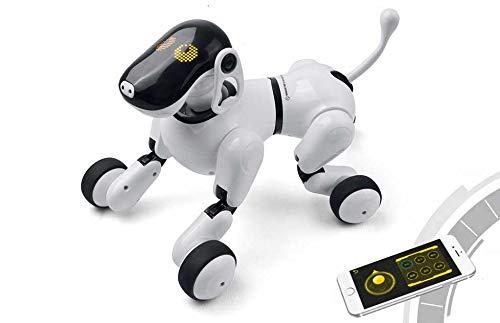 Perro Robot Inteligente iPuppy | Tu Mascota Interactiva más Divertida: sácalo a pasear, Dale de Comer y enséñale Trucos | Toy Juguete Electrónico Infantil para Niños