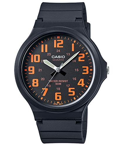 Casio Men's Watch in Resin/Acrylic Glass with Neo Display & Buckle - Water...