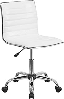 white leather desk chair ikea
