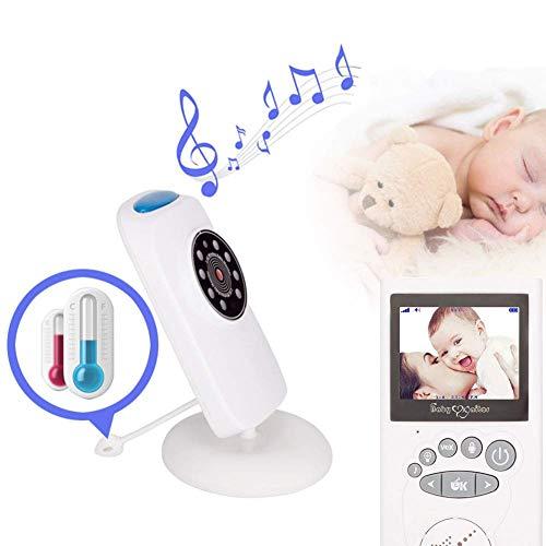 SWEET Moniteur pour bébé avec 2 caméras et Application vocale de téléphone Fonction vocale Écran LED en Mode économie d'énergie et résolution 640 * 480