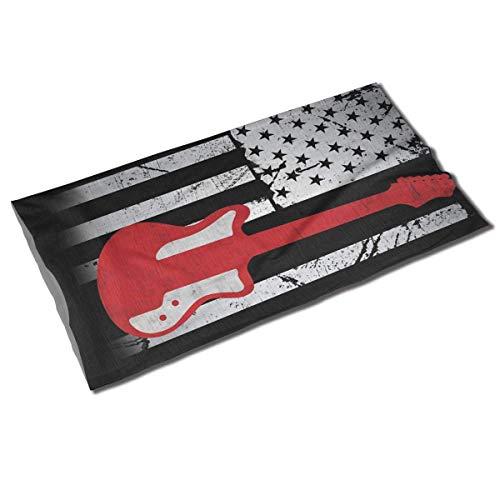 Merican Flag Guitar Unisex Outdoor Sport Scarf Headbands Bandana Mask Neck Gaiter Head Wrap Sweatband Headwear Fashion2899