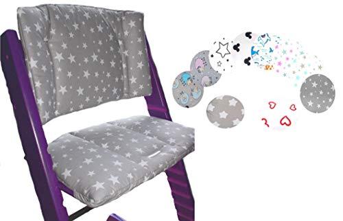 Little Sweetz ** TRIPP TRAPP Set DESIGN ** Coussin d'assise et réducteur de siège pour chaise haute Compatible avec Tray Table