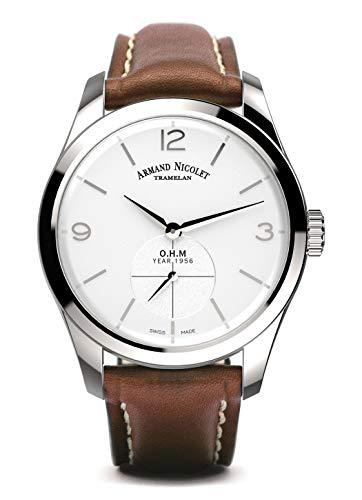 Reloj armand nicolet lb6 a134aaa-ag-p140mr2 mecánico manual orologio Uomo...