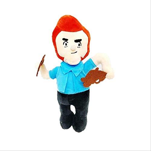 qwerbz Plüschtier Puppen Cartoon Held Anime Figuren Modell Spike Shelly Leon Primo Mortis Junge Mädchen Spielzeug Kind Geburtstagsgeschenk 20-26cm 04