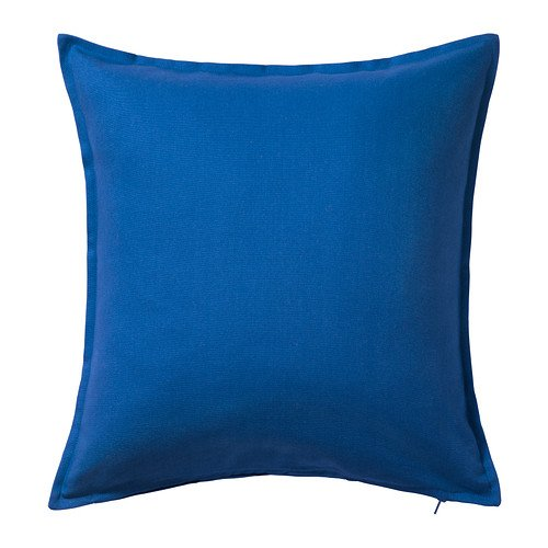 IKEA GURLI - Cushion cover, blue - 50x50 cm