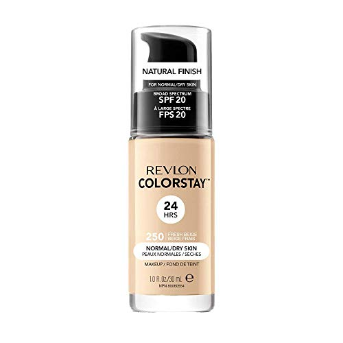 Revlon ColorStay Base de Maquillaje piel normal/seca FPS20 (#250 Fresh Beige) 30ml