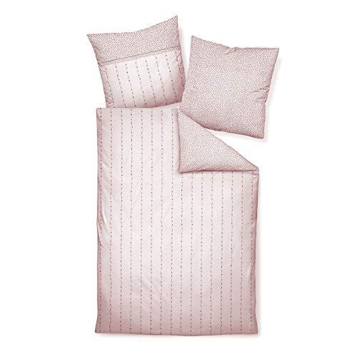 Janine Design Edelflanell Bettwäsche Chinchilla S 78007-01 1 Bettbezug 135 x 200 cm + 1 Kissenbezug 80 x 80 cm