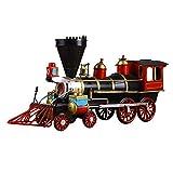 NAZIL Train Modèle 1829 Locomotive À Vapeur avec Seau Modèle Nordic Rétro Nostalgique Artisanat Enfant Jouet Festival Cadeau d'anniversaire Surprise Convient pour Jeune Enfant