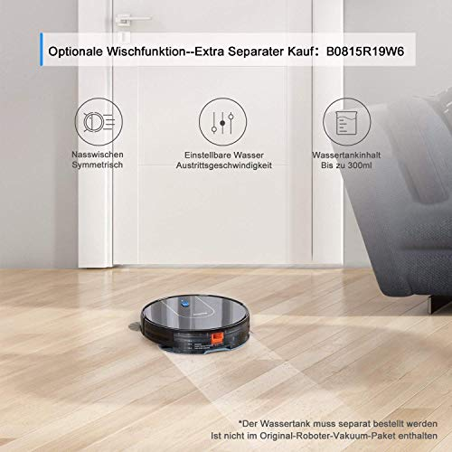 Bagotte BG700 Saugroboter mit App und Alexa - 6