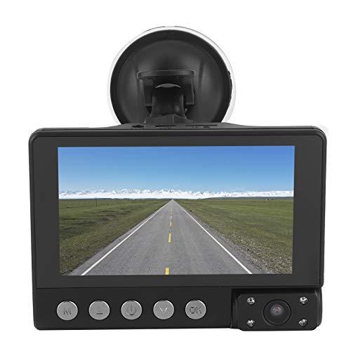 DVR para automóvil, videocámara para automóvil, cámara para salpicadero automática, grabadora de video automática de resolución 800x480, para automóvil duradero doméstico de alta calidad