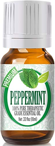 Peppermint Essential Oil - 100% Pure Therapeutic Grade Peppermint Oil...