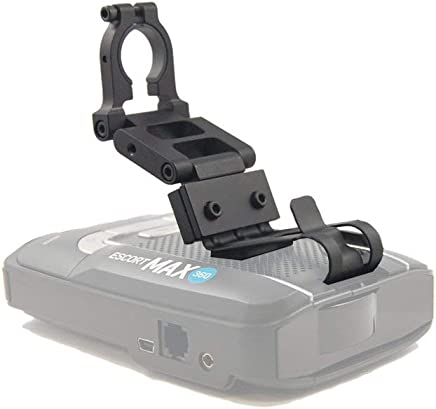 BlendMount BMX-2000R Aluminum Radar Detector Mount for Escort MAX 360/MAX2/MAX/GT-7 - Compatible with Most American and Asian Vehicles - Made in USA - Looks Factory Installed