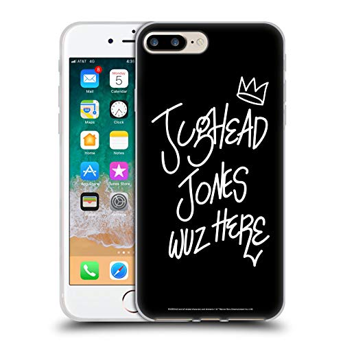 Head Case Designs Oficial Riverdale Jughead Wuz Aquí Arte Gráfico Carcasa de Gel de Silicona Compatible con Apple iPhone 7 Plus/iPhone 8 Plus
