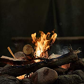 Soft Flames for Concentration and Relaxation, Fire Sounds and Fire Burning for Sleep Music