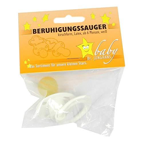 BERUHIGUNGSSAUGER Kirschf.Lat.ab 6 M.weiß 1 St