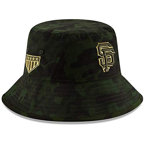 New Era MLB 2019 Armed Forces Day Bucket Hat Cap: OSFM (San Francisco Giants)