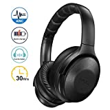 Mpow H17 Noise Cancelling Kopfhrer, Bluetooth Kopfhrer Over Ear mit Schnellladung, [Bis zu 30 Std]...