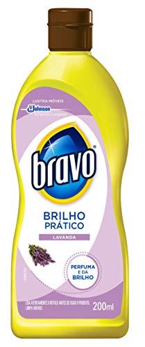Lustra Móvel Brilho Prático Lavanda 200 ml, Bravo