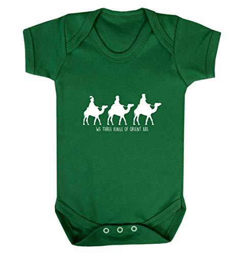 Flox Creative Baby Vest We Three Kings of Orient are - Vert - XS