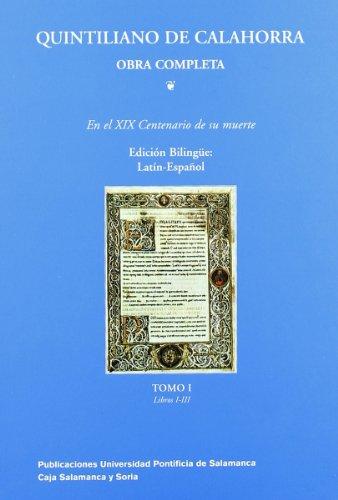 Parte primera Libros I-III : en el XIX centenario de su muerte