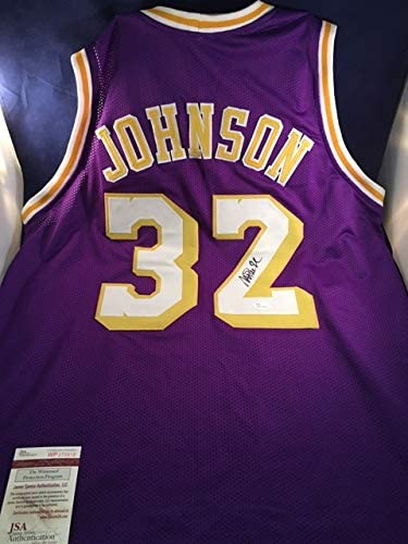 Earvin Magic Johnson Los Angeles Lakers Signed Auto Autographed ...