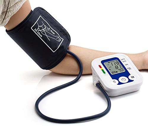 Oberarm-Blutdruckmessgerät, digitaler automatischer Blutdruckmessgerät und Herzfrequenzimpuls mit LCD-Anzeigen 2 Benutzer Erinnerungen