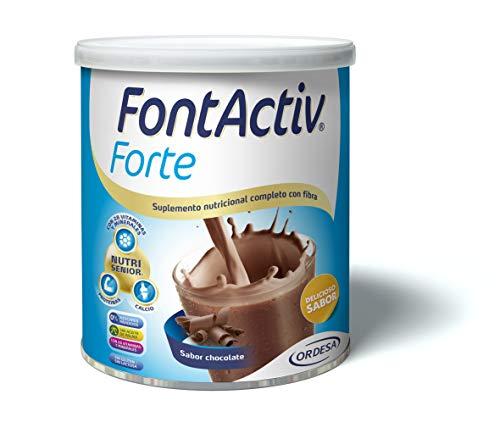 FONTACTIV, Forte - 800 Gr Suplemento Nutricional Para Adultos Y Mayores- 30 Grs. O 2 Veces Al Día 800 G, Chocolate
