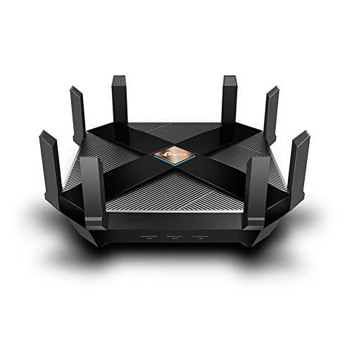 Tp-Link Archer Ax6000 Next-Gen Wifi 6 Gigabit Dual Band Wlan Router, Wifi Snelheid Tot 4804 Mbps/5 Ghz+1148 Mbps/2,4 Ghz, 2,5G Wan-Poort, Ideaal Voor Gaming Xbox/Ps4/Steam&4K/8K-Streaming