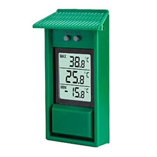FISHTEC ® Thermomètre Cabane Mini/Maxi - Lecture immédiate - Mémoire des mini et maxi - IPX2