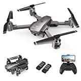 SNAPTAIN A15F Foldable Drone with 1080P HD Camera FPV WiFi RC Quadcopter, Optical Flow Positioning/ Voice Control/ Gesture Control/ Trajectory Flight/ Circle Fly/ G-Sensor/ Headless Mode