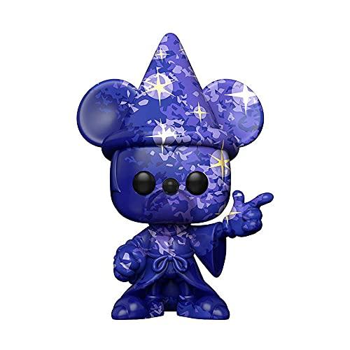 Funko-POP DisneyFantasia 80th-Mickey#1 (Artist Series) w/Case Fantasia Figura coleccionable,...