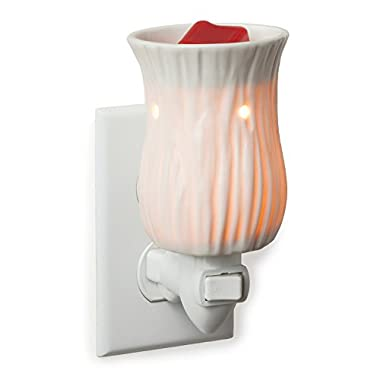 Candle Warmers Etc. Pluggable Fragrance Warmer, Willow