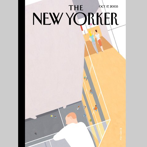 The New Yorker (Oct. 17, 2005) audiobook cover art