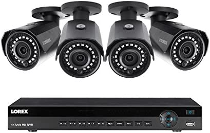 Lorex 8 Channel NR9082 4K Home Weatherpro Cash special price with System Classic Security 4