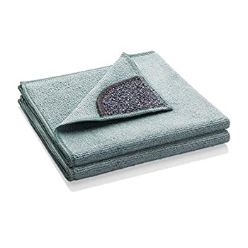 E-Cloth Kitchen Microfiber Cleaning Cloth with Non-Scratch Scrubbing Corner - 2 Count