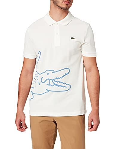 Lacoste PH9739 T Shirt Polo, Farine, M para Hombre
