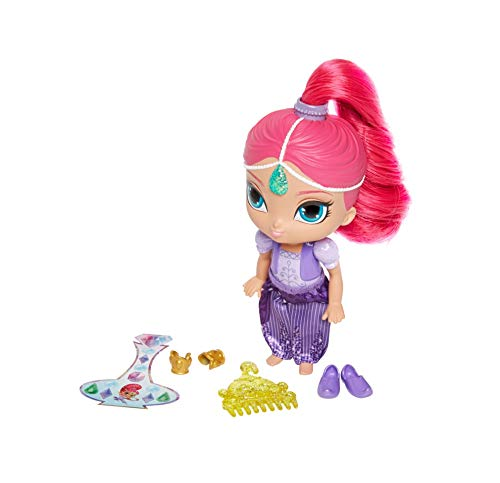 Mattel - DLH56 Shimmer and Shine Muñeca Shimmer con accesorios