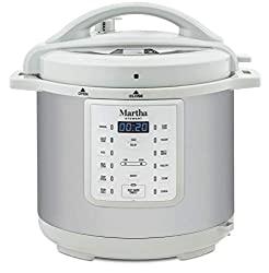 This is how the Martha Stewart 8 Qt 7-in-1 Everything Cooker looks